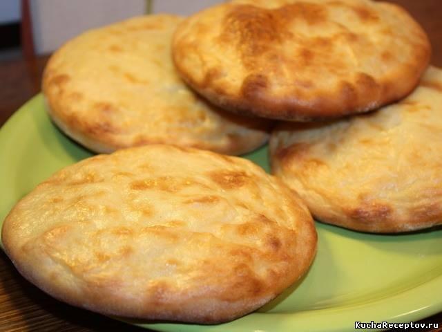 Рецепт шанег с картошкой из дрожжевого теста с пошагово