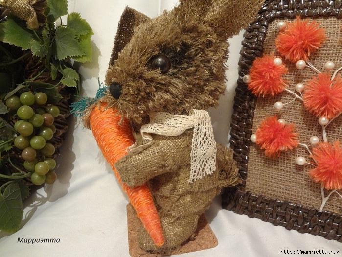 кролик из мешковины (1) (700x525, 304Kb)