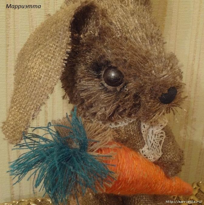 кролик из мешковины (11) (672x676, 342Kb)