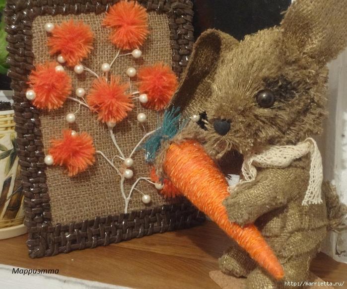 кролик из мешковины (22) (700x582, 290Kb)