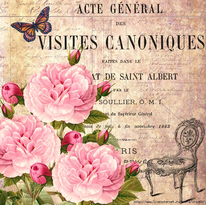 Mi baul del decoupage preciosos collages con flores for Tessuti arredamento francesi