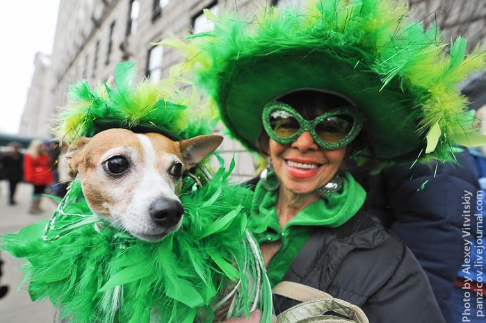 День Святого Патрика в Нью-Йорке фото 2 (700x465, 261Kb)
