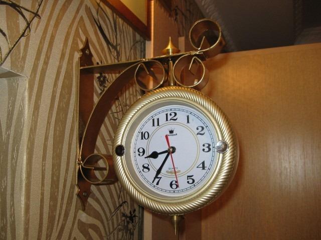 Часы станционные своими руками