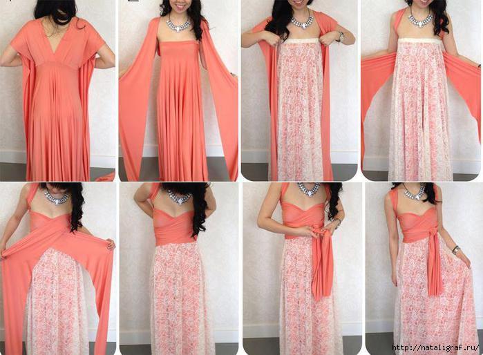 Сшить платье своими руками фото быстро