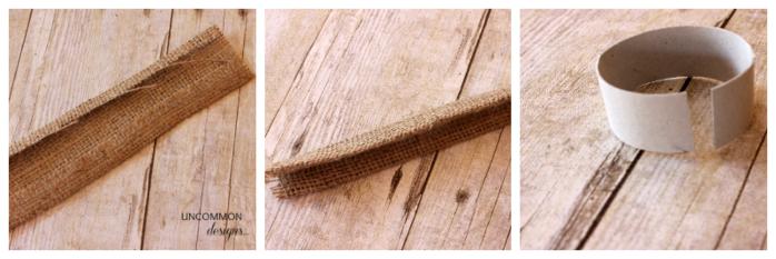 Пасхальные кольца для салфеток. Ушки из мешковины (3) (700x233, 312Kb)