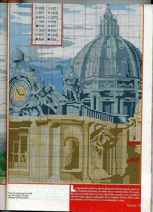 Купол Собора Святого Петра в Ватикане (505x700, 198Kb)