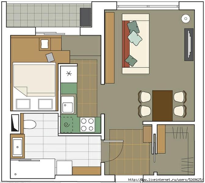Перепланировка квартиры студии фото