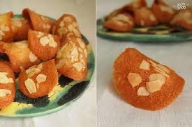 Рецепт: Печенье цитрусово-миндальная черепица