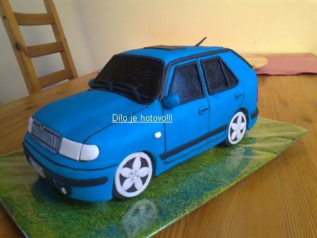 3D торты. Автомобили из мастики (11) (450x338, 51Kb)