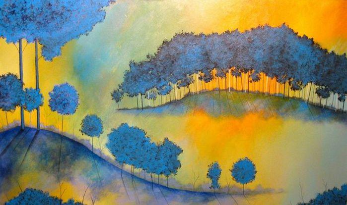 Духи леса от художника Scott Belcastro 8 (700x414, 53Kb)