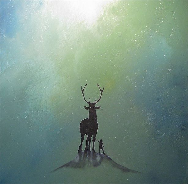 Духи леса от художника Scott Belcastro 14 (614x600, 44Kb)