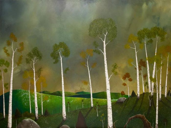 Духи леса от художника Scott Belcastro 18 (700x521, 52Kb)