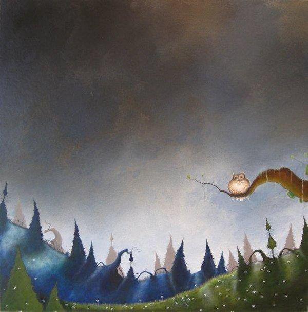Духи леса от художника Scott Belcastro 24 (600x606, 50Kb)
