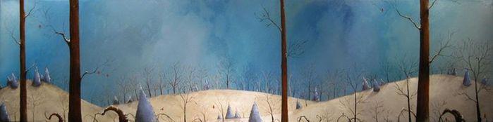 Духи леса от художника Scott Belcastro 28 (700x174, 18Kb)