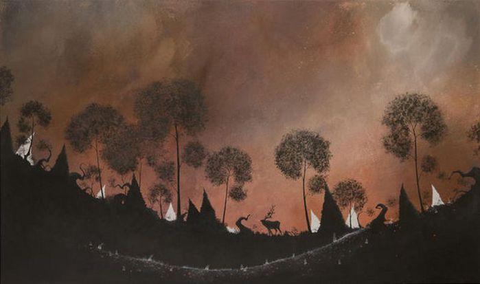 Духи леса от художника Scott Belcastro 37 (700x413, 31Kb)