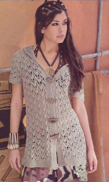 <схемы вязание спицами - Самое