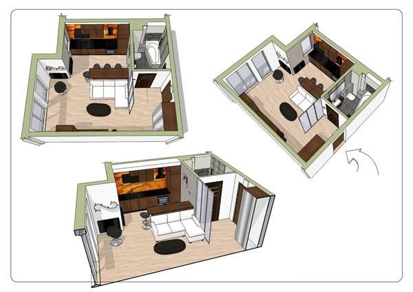 Стильный дизайн квартир фото