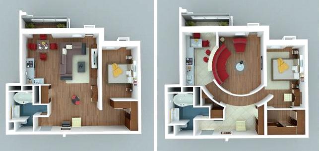 Дизайн и планировка малогабаритных квартир