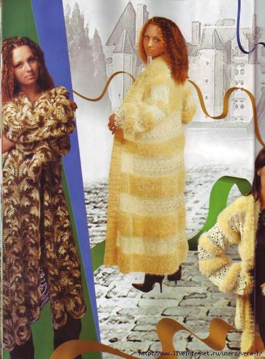 Пальто с кружевами 6