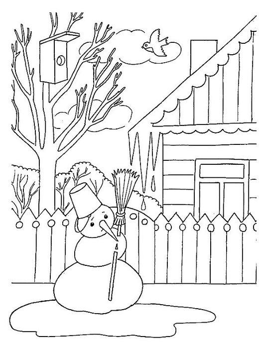 Рисунки на весеннюю тему, бесплатные ...: pictures11.ru/risunki-na-vesennyuyu-temu.html