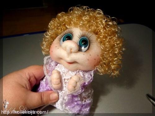 Как кукле сделать кудрявые волосы