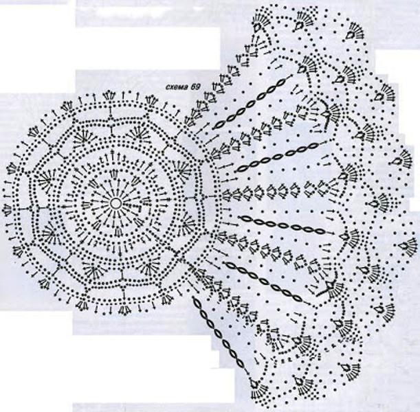 Летние шляпы крючком схемы