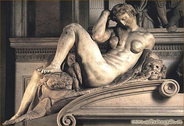 Ночь. Микеланджело (604x414, 112Kb)