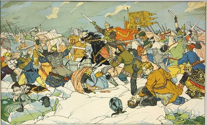 День воинской славы России - Ледовое побоище (1242) Логово Открытых Дверей!