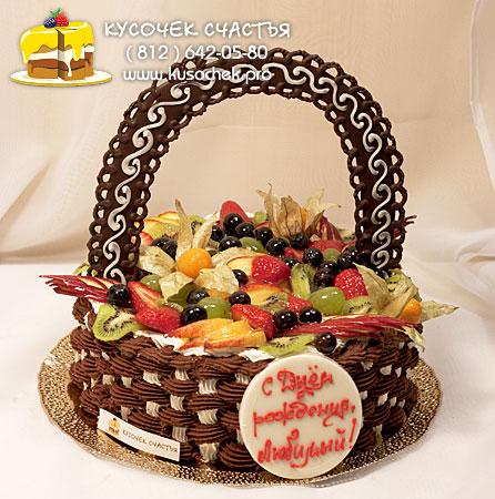 Украшаем торты в домашних условиях фруктами