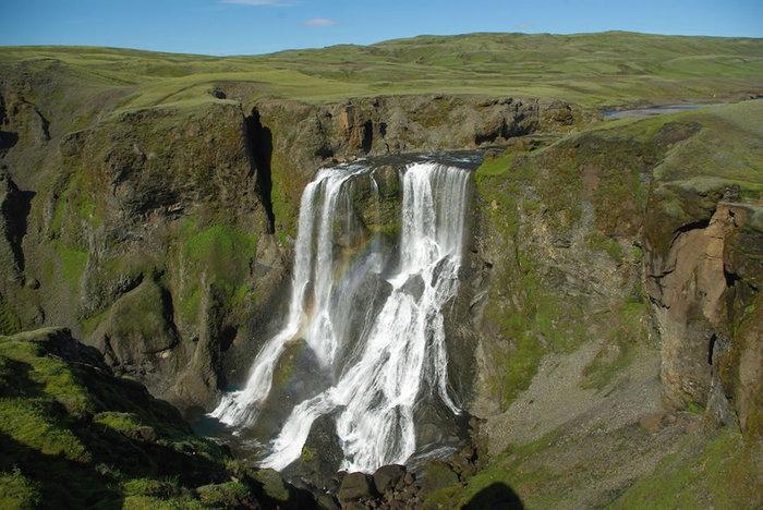 водопады исландии фото (700x468, 100Kb)