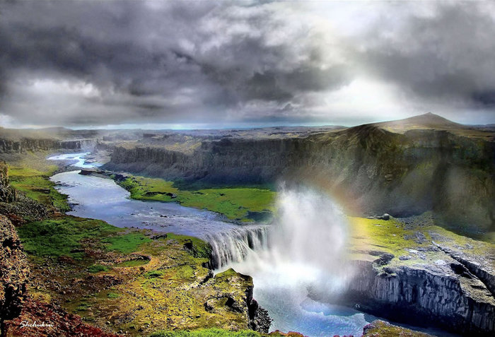 водопады исландии фото 6 (700x477, 97Kb)