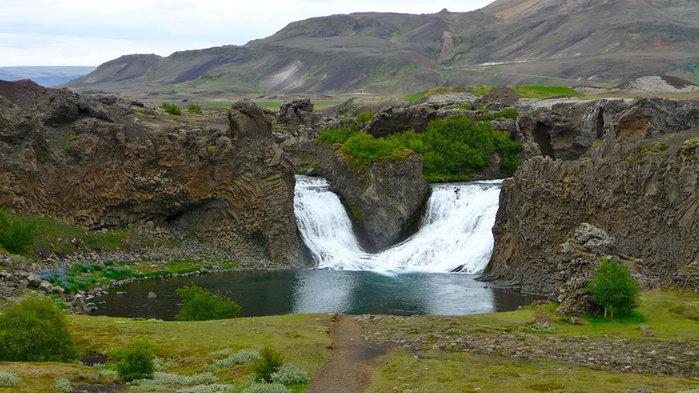 водопады исландии фото 11 (700x393, 94Kb)
