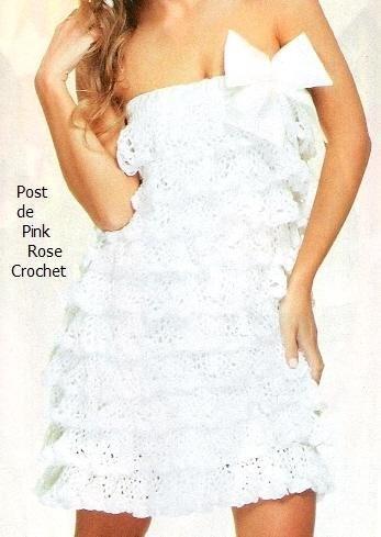 платье с рюшами крючком (347x489, 32Kb)