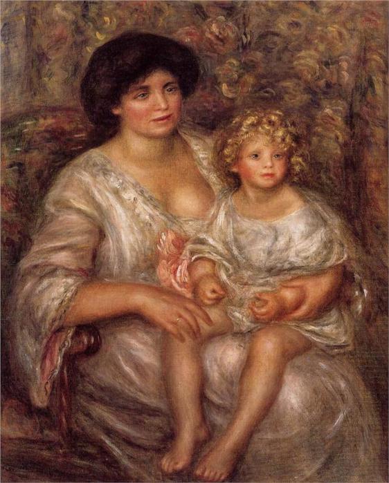 Thurneyssan мадам и ее дочь, 1910 (562x700, 68Kb)