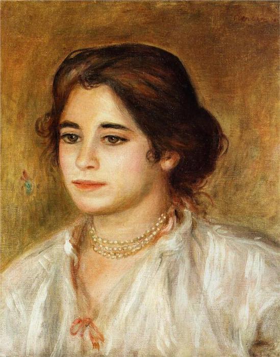 Габриэль носить ожерелье, 1906 (549x700, 68Kb)
