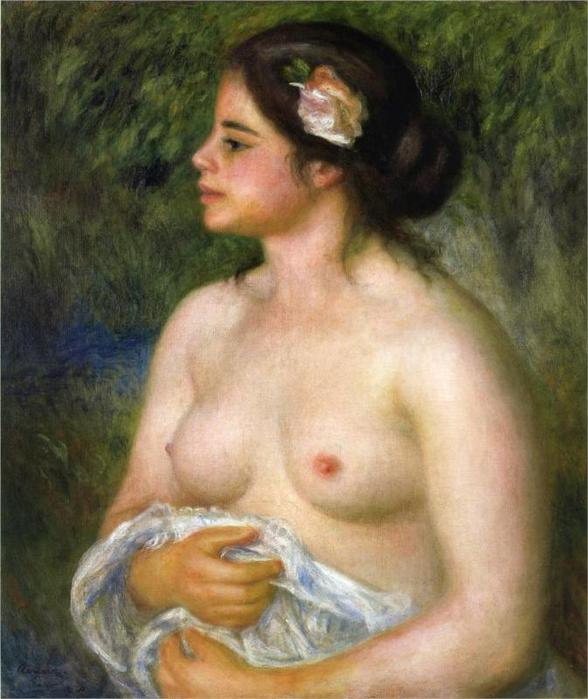 Габриэль с розой (Сицилийская женщина), 1899 (588x700, 53Kb)