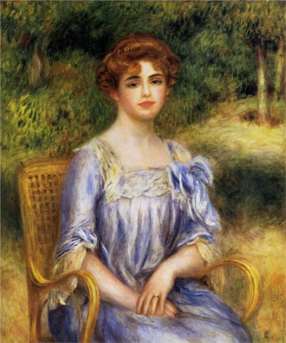 Мадам Гастон де Вилле Бернхайм урожденная Сюзанна Адлер, 1901 (584x700, 69Kb)