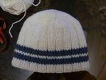 Вязание спицами - Как связать двойную шапку Поиск мастер.
