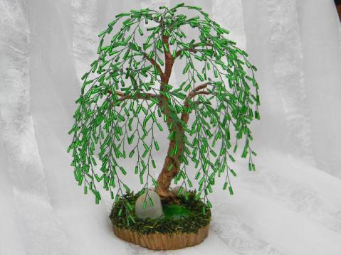 28 просмотра. нра.  Альбом пользователя aksa. дерево объёмное. плетение петельное.  3 комментария. зелёный. вс...