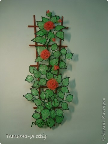 Панно на стену из бисера