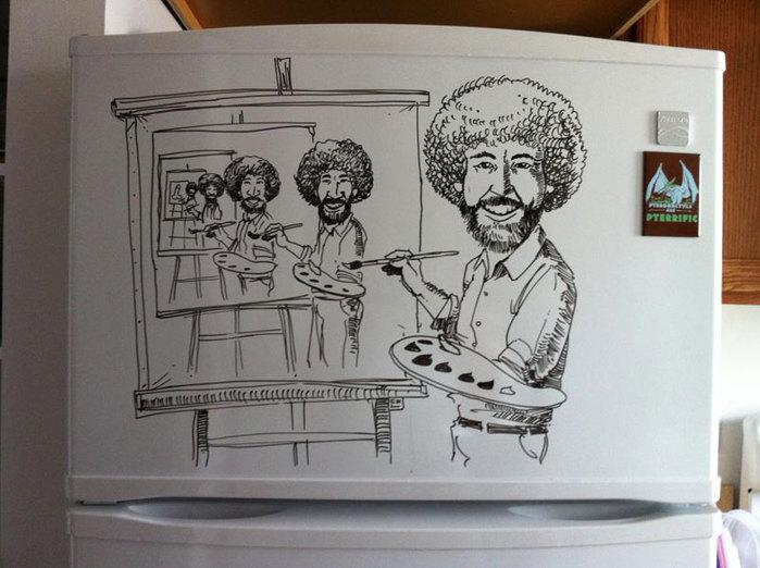 прикольные рисунки Чарли Лэйтон (700x522, 77Kb)