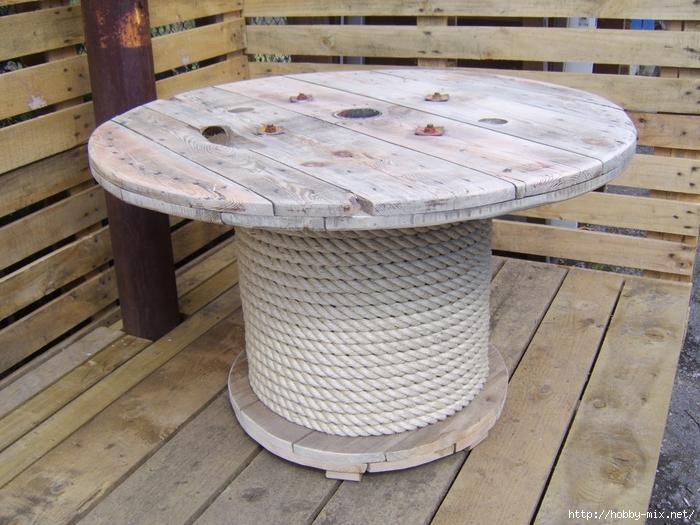 Как сделать круглый стол на даче - ЛЕГИОН