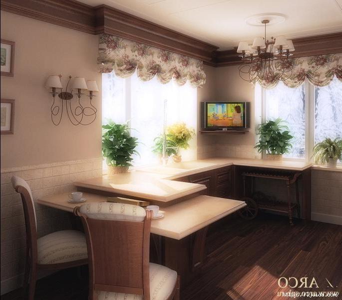 Дизайн кухни 11 кв.м с окном