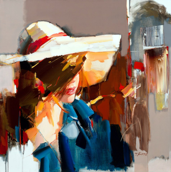 Josef Kote _ paintings _ Armenia_ USA (23) (694x700, 514Kb)