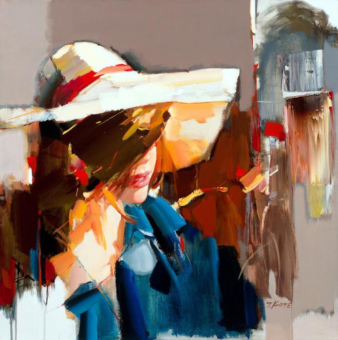Josef Kote _ paintings _ Armenia_ USA (23) (694x700, 514Kb)