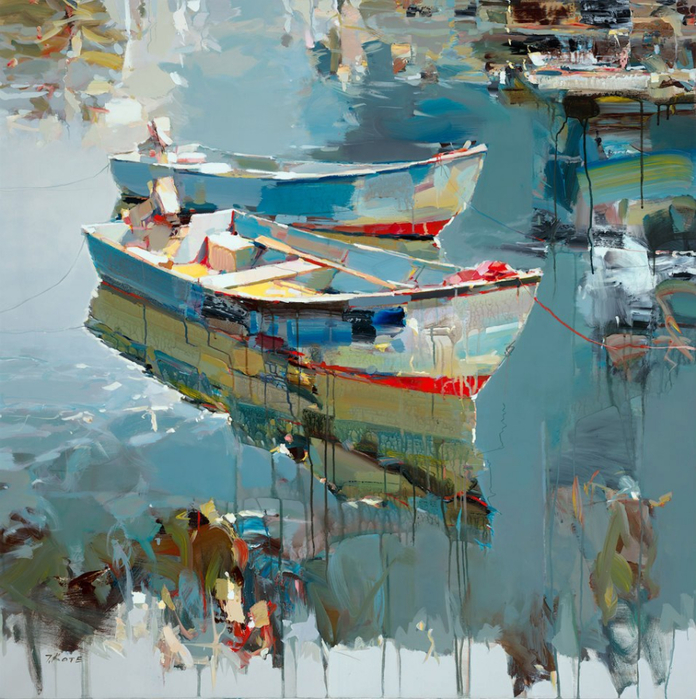 Josef Kote _ paintings _ Armenia_ USA (24) (696x700, 565Kb)