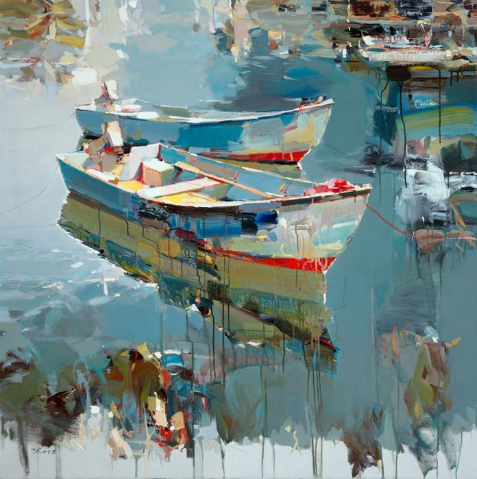 Josef Kote _ paintings _ Armenia_ USA (24) (696x700, 565Kb)