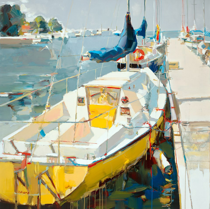 Josef Kote _ paintings _ Armenia_ USA (31) (700x696, 588Kb)