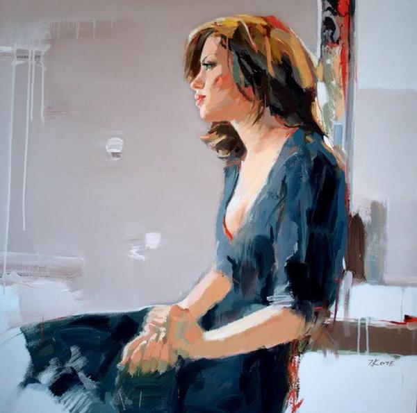 Josef Kote _ paintings _ Armenia_ USA (11) (600x595, 201Kb)