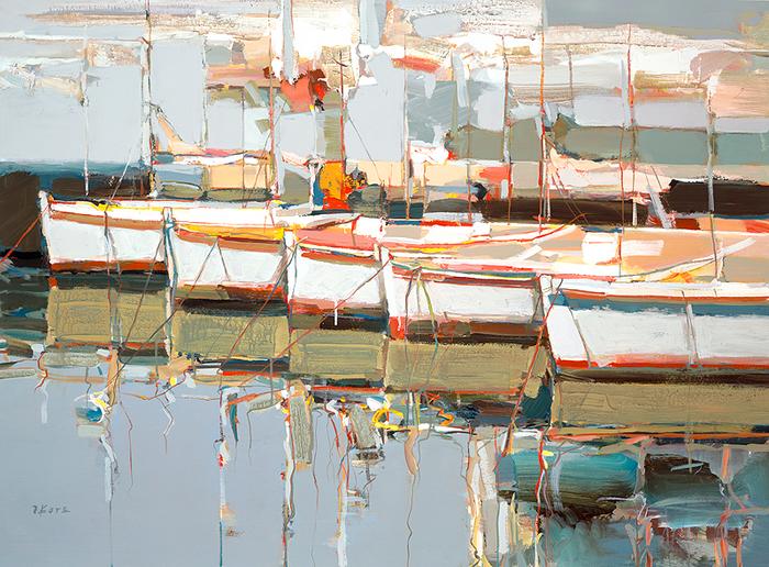 Josef Kote _ paintings _ Armenia_ USA (21) (700x516, 642Kb)